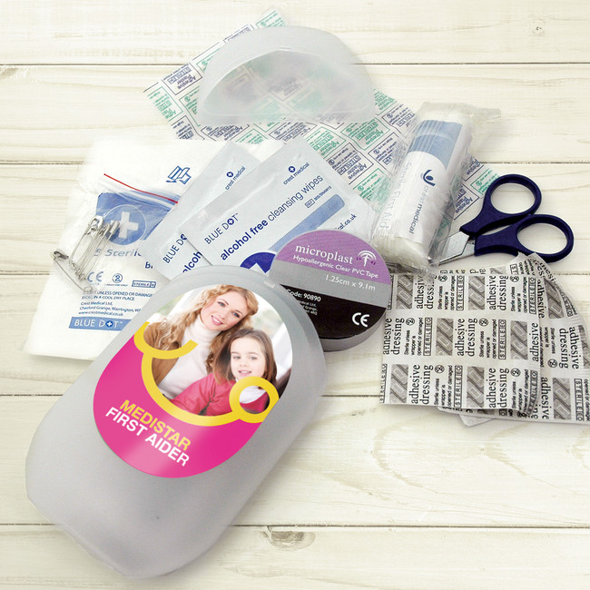 First Aid Kit – In a handy travel size pack full of First Aid essentials.