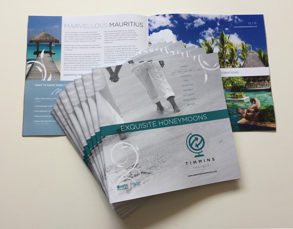 Brochures – Available as saddle stitched or perfect bound and in a range of sizes and finishes.