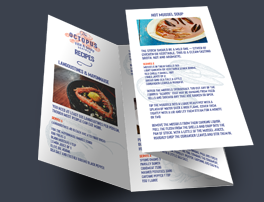 Leaflets – Available in various weights, paper types and finishes. Multiple folding options available.