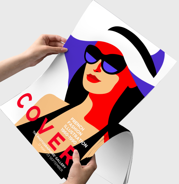 Posters – Available in all sizes from A4 to huge A0 in a variety of paper materials.
